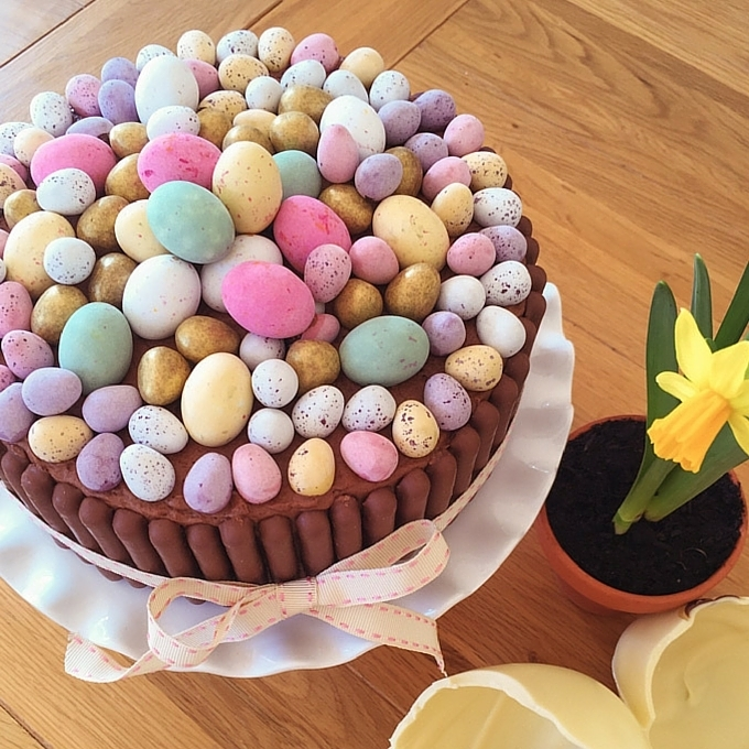 Chocolate Easter Eggstravaganza Cake