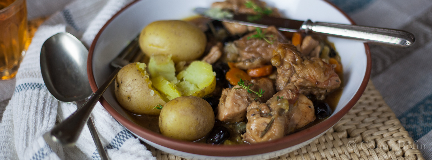 Rabbit and Olive Stew – It really is a small world.