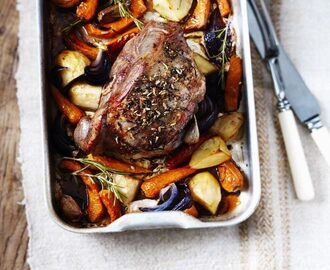 Easter Roast Lamb