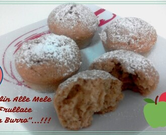 """Muffin Alle Mele🍎Frullate Senza Burro""...!!! - YouTube"