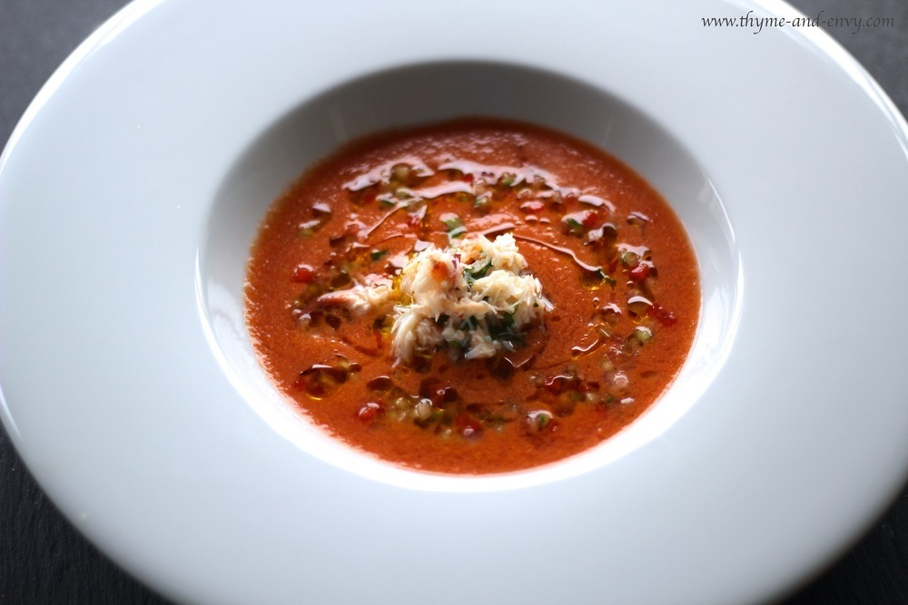 Phil Howard's Gazpacho