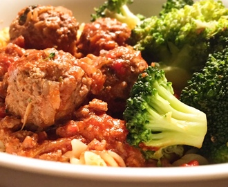 Homemade Beef Meatballs in Tomato Sauce | Slimming World