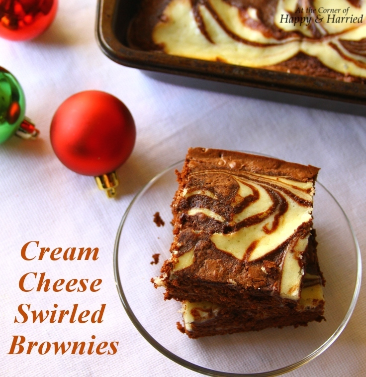 Easy Dessert – Cream Cheese Swirled Or Marbled Brownies