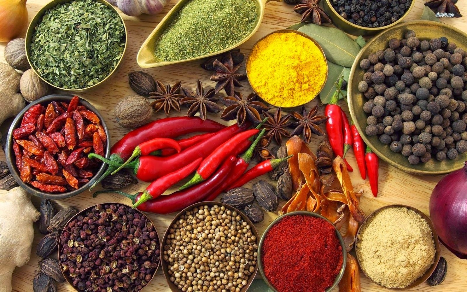 Travel between Spices of India