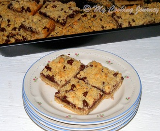 Chocolate Raspberry Walnut Bars