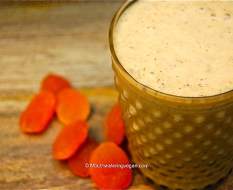 Raw Apricot Nectar & Cinnamon Powered Smoothie