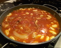 Chorizo and Butterbean Stew