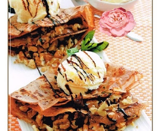 CREPES CRUJIENTES DE CHOCOLATE