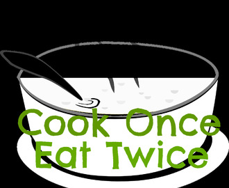 Cook Once Eat Twice March 2016 Round Up