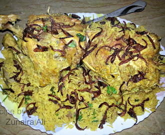 Whole Chicken with Masala Rice