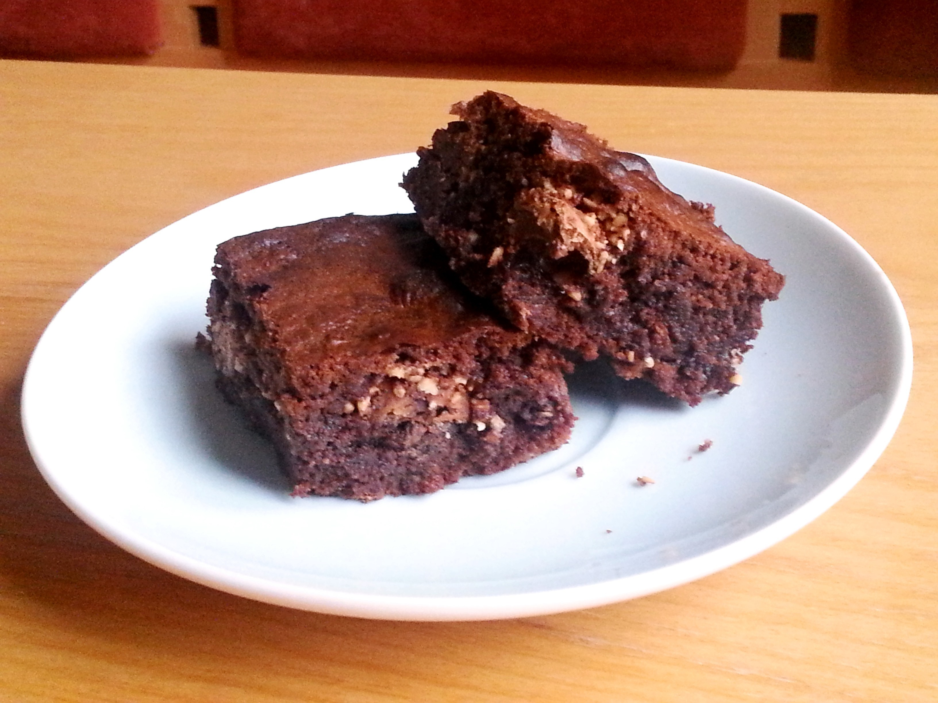 Nutella Rocher Brownies