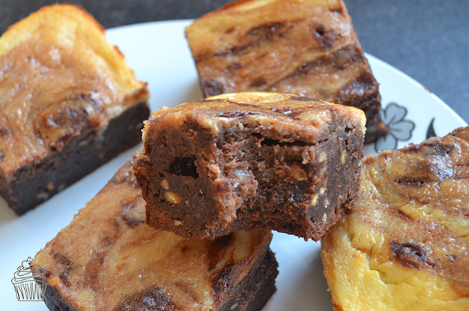 Chocolate Peanut Butter Cheesecake Brownies : RECIPE