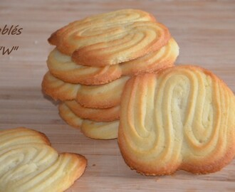 biscuits sablés « W »,biscuits faciles
