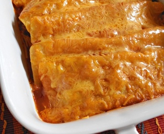 Beef and Cheese Enchiladas (or just cheese)