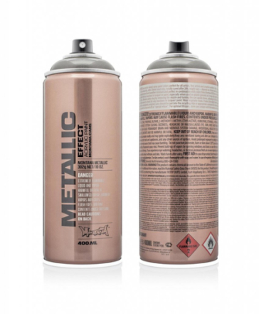 Montana effect sprayfärg - metallic graphite 400 ml - grå