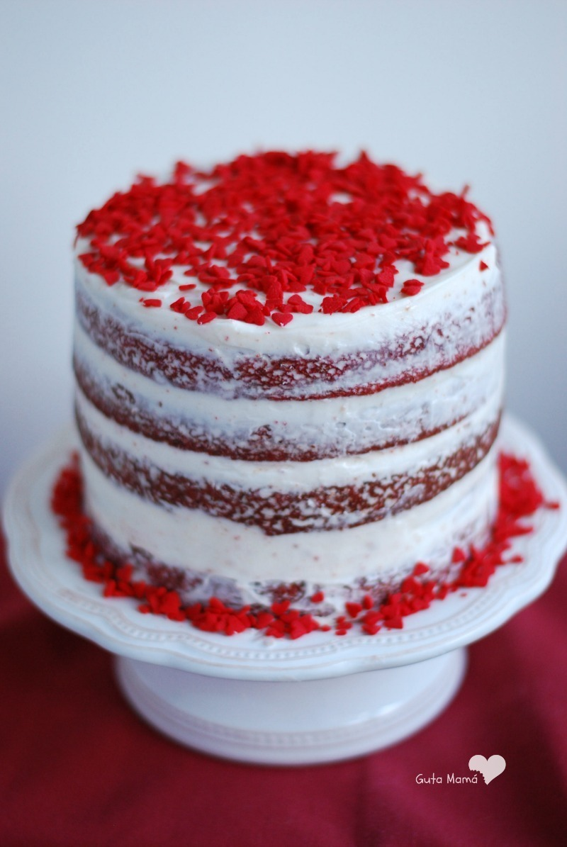 Tarta Red Velvet (Red Velvet Layer Cake)