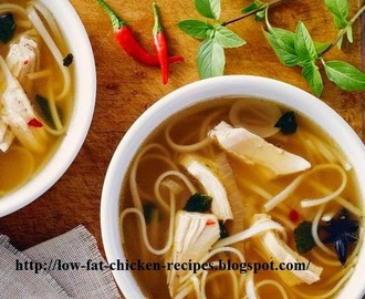Vietnamese noodle soup simmered slowly