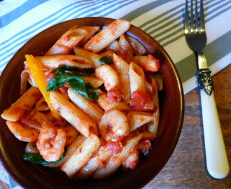 Syn Free Prawn and Chilli Pasta