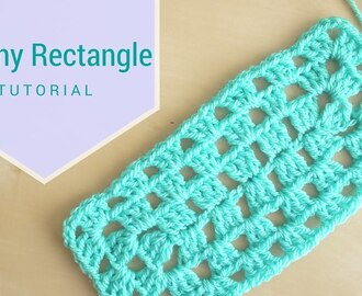 CROCHET: Granny rectangle | Bella Coco