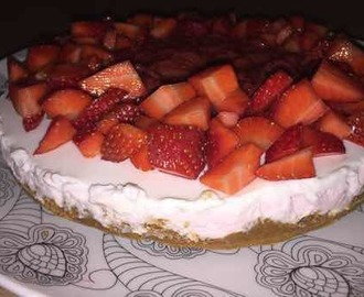 Cheesecake ricotta e yogurt greco