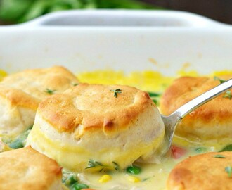 Dump-and-Bake Chicken Pot Pie Recipe