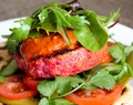 Turkey, Beetroot and Cumin Burger !