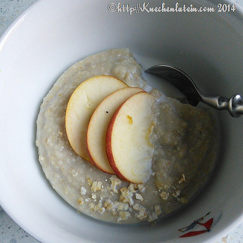Porridge aus dem Slow Cooker