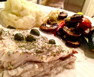 Red Snapper with Roasted Veggies
