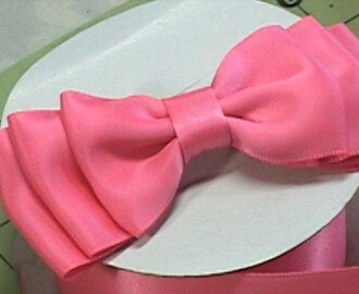 DIY Make Hair Bow, Ribbon bow, Bow Tie, Tutorial #1, DIY