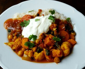 Easy Veggie Curry