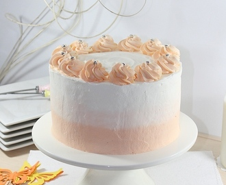 Chocolate Carrot Layer Cake (Pastel de chocolate y zanahoria)