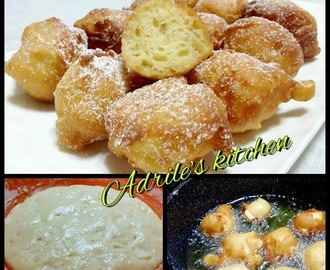 FRITTELLE ALLE MELE CON LIEVITO MADRE