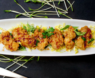 Asian Sesame Fried Oysters