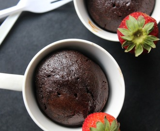 Sunday's Special Easy & Moist Chocolate Mug Cake !!