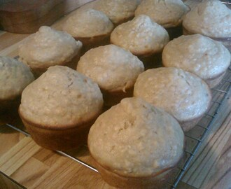 Oatmeal Muffins (with yogurt)