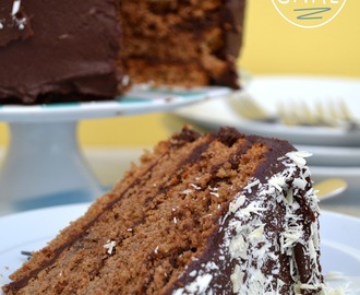 Mocha Cake (or java infused cake with fudgylush choccy frosting)