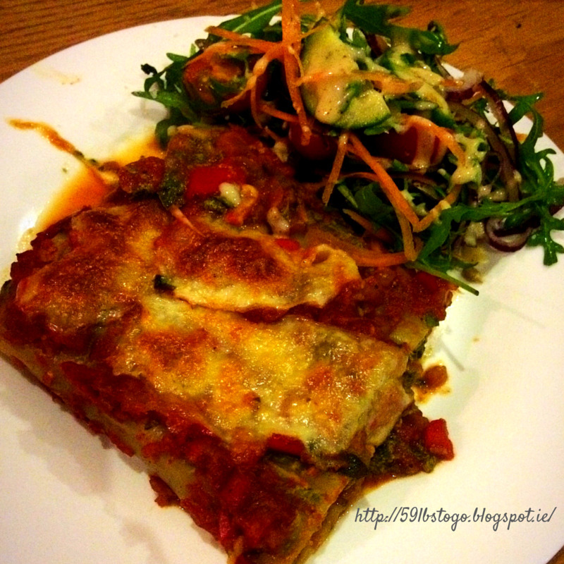 Spinach & Quark Cannelloni