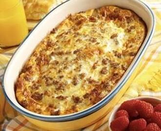 Quick and Easy Weekend Brunch Casserole