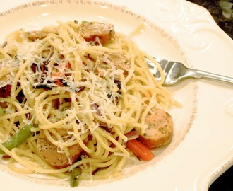 Chicken Sausage Pasta