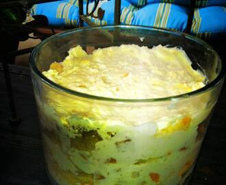 Mandarin Orange and Pineapple Trifle