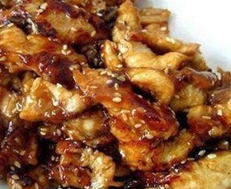 Sesame Chicken for slow cooker (low fat, clean eating, Paleo, healthy)