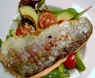 HONEY-GLAZED TROUT