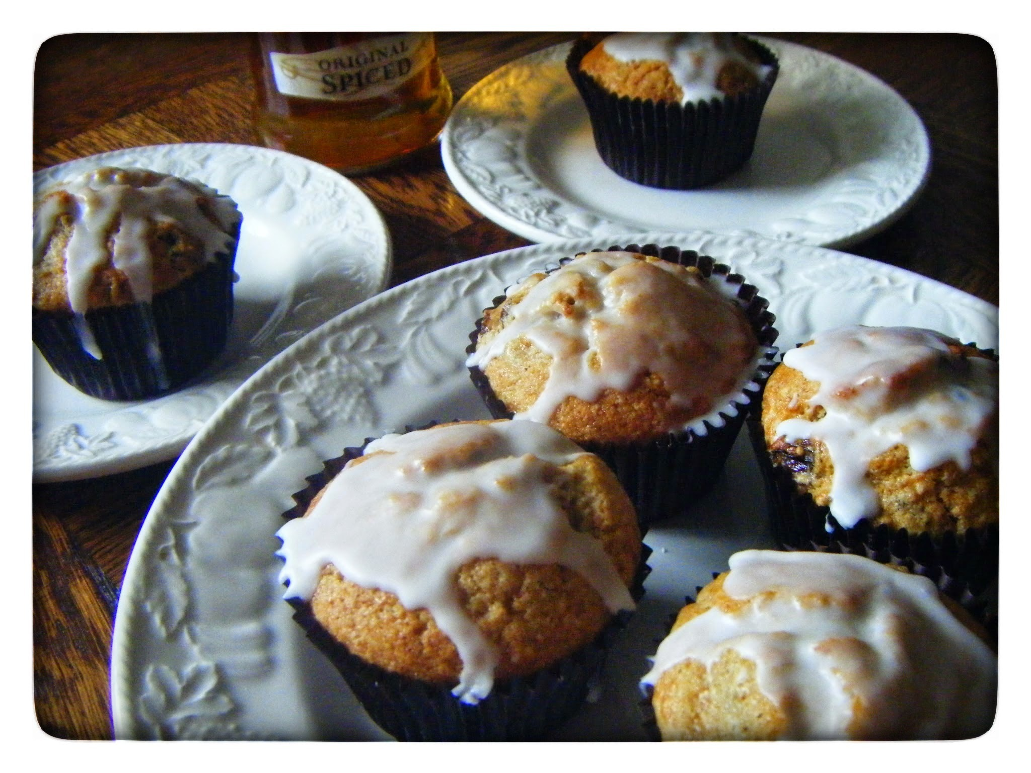 Rum and Raisin Muffins