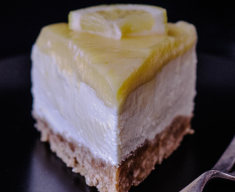 ein revoluzzer TU-ES-DAY mit einem no advent and no bake cheesecake mit lemon curd!