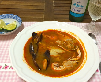 Parihuela – Peruvian Seafood and Fish Soup (and a Great Peruvian Restaurant in Madrid)