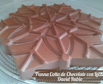 Panna Cotta de Chocolate con Leche