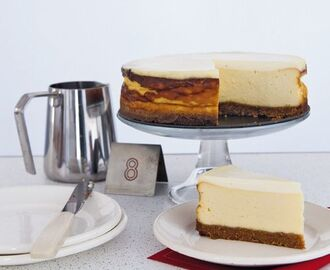 Authentieke New York cheesecake