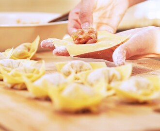 7 Cool Ways to Wrap Wonton, CiCi Li