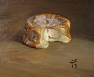 Christian Furr's new art collection 'The Humble Cheese' at Knight Webb Gallery