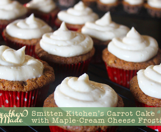 Smitten Kitchen's Carrot Cake with Maple-Cream Cheese Frosting